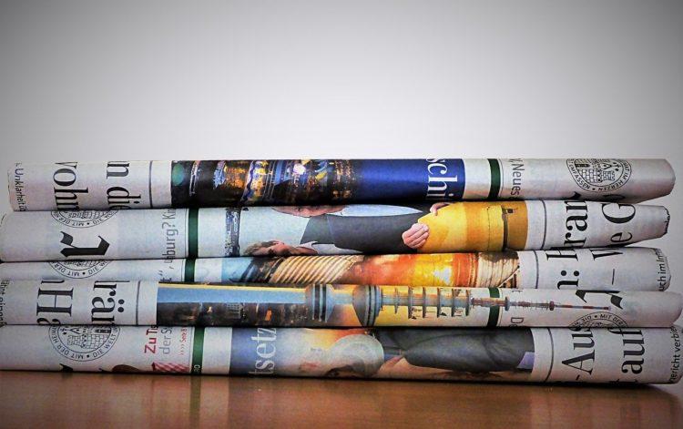 Giornali per ufficio stampa